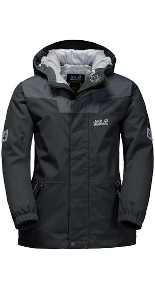 Jack Wolfskin Glacier Bay Jacket Boys phantom